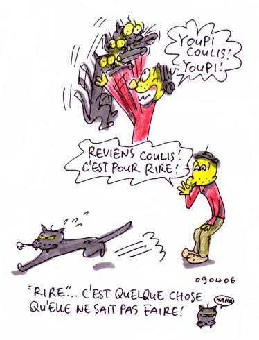 Coulis ne rit pas