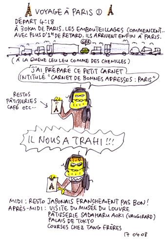 Voyage à Paris 1