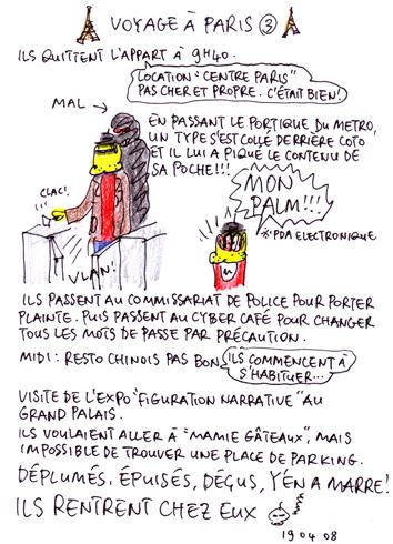Voyage à Paris 3