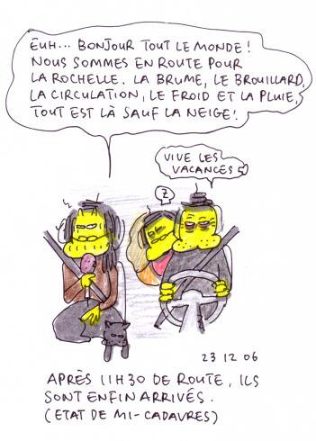 Départ à La Rochelle