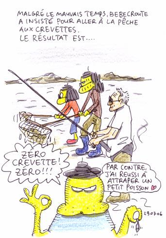 Pêche aux crevettes