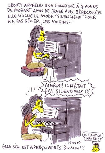 Mode silencieux