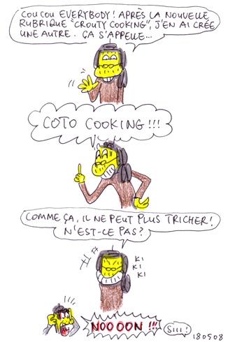 Nouvelle rubrique : Coto Cooking !