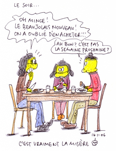 Pas de Beaujolais Nouveau