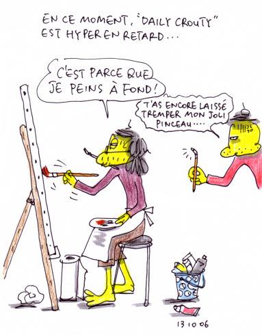 Crouty peintre