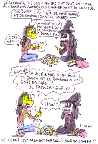 Friandises Halloween