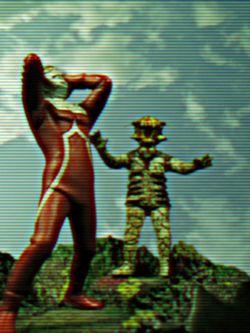 Ultraman a la migraine