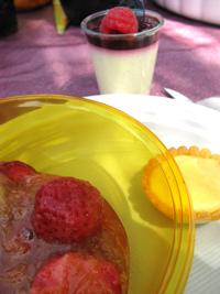 Fraise+rebarbe+melon ?