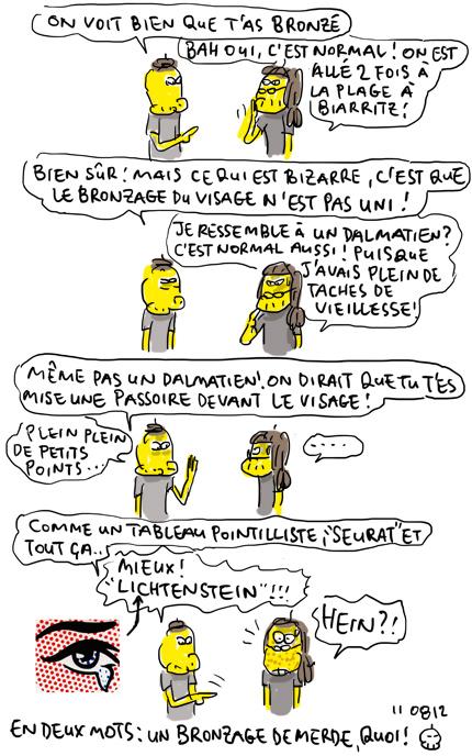 Bronzage Lichtenstein !