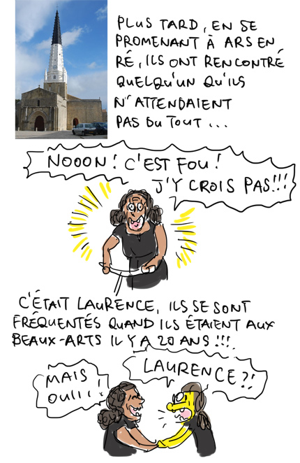 Laurence, 20 ans après !