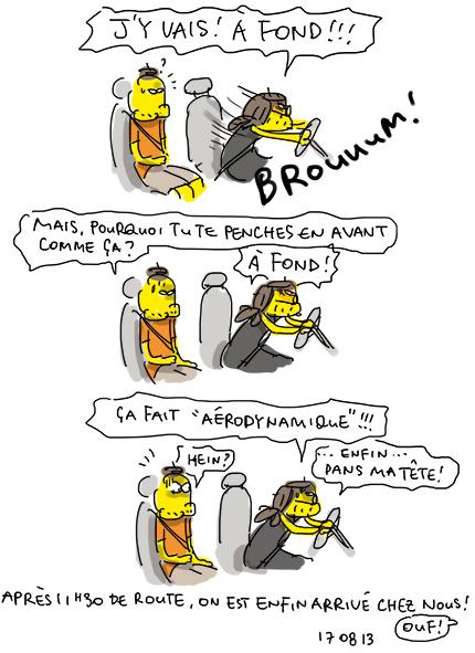 Aérodynamique à donf !