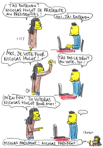 Nicolas Hulot, président !!!