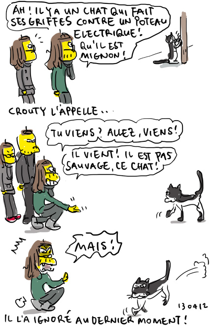 Chat prout