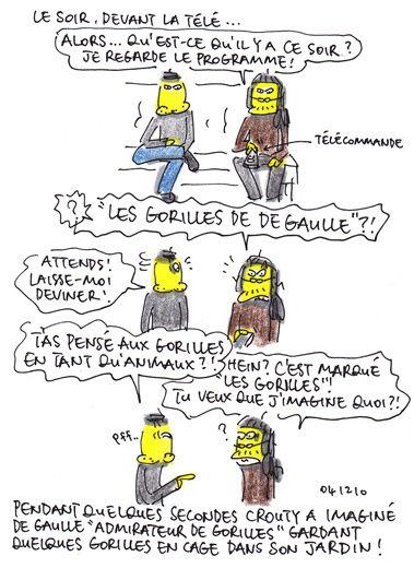 """Il existe """"les perruches de De Gaulle"""" ?"""