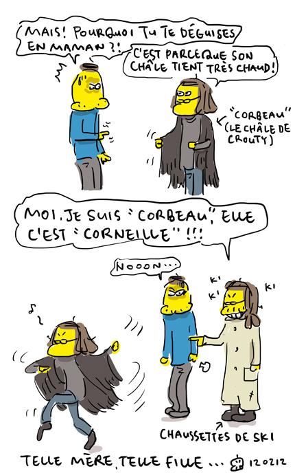 Corneille, c'est elle !