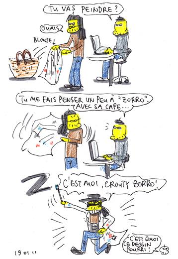 Zorro Z ! Z ! Z !