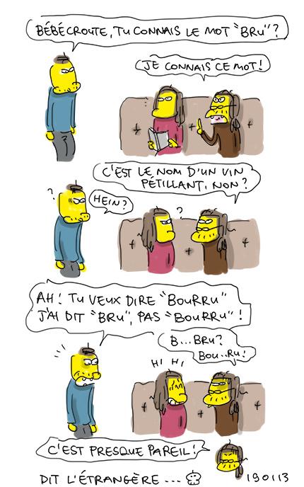 Bourru !