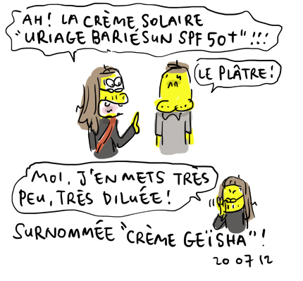 Crème Geïsha !