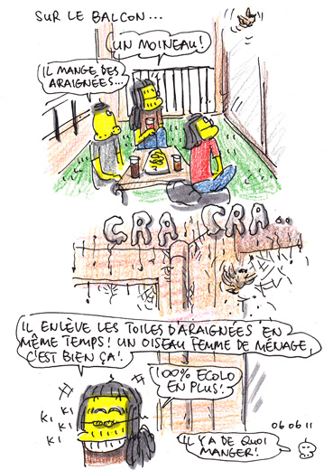 Welcome les moineaux !