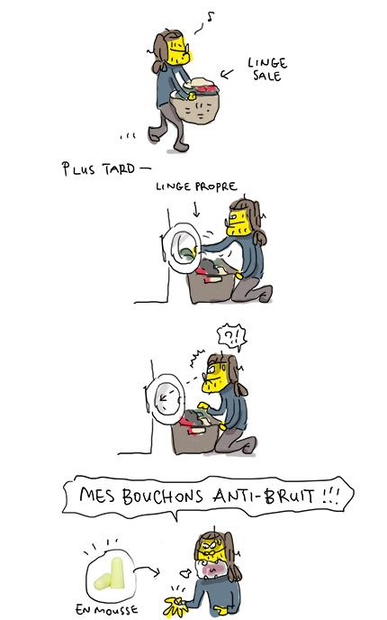 Bouchons anti-bruit !!!