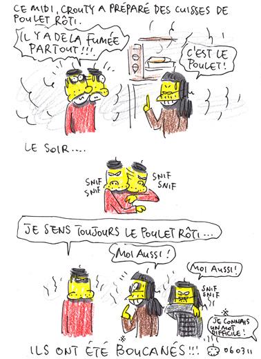 """Parfum """"poulet rôti"""""""