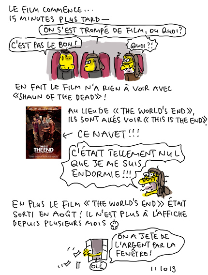 This is the end : très mauvais !