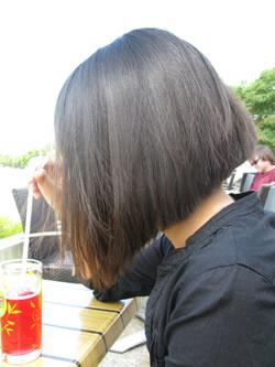 Cheveux lisses !
