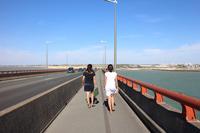 Marcher sur le pont