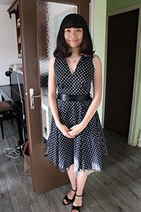 En jolie robe !
