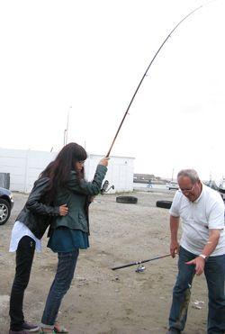 Crouty à la pêche