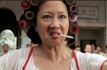 Femme aux bigoudis la version chinoise