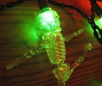 Guirlande electrique squelettes
