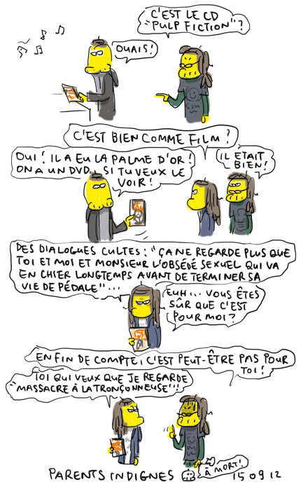 """""""Pulp fiction"""", c'est super !"""